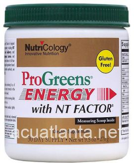 ProGreens Energy with NT Factor 9.5 oz 270 grams