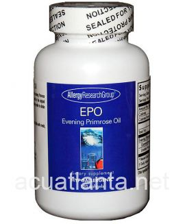 EPO-Evening Primrose Oil 120 soft gelcaps