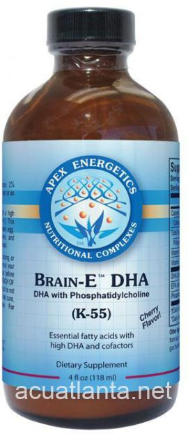 Brain-E Dha K55 4.2 oz liquid Cherry