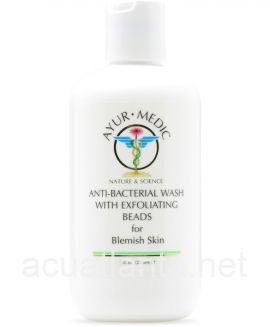 Anti-Bacterial Wash with Exfoliating Beads 8 oz