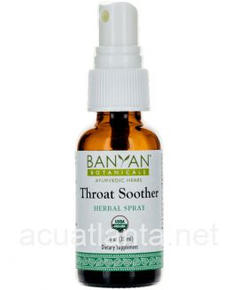 Throat Soother Spray 1 ounce Organic