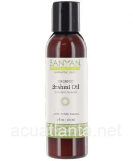 Brahmi Oil Coconut 4 ounce Organic