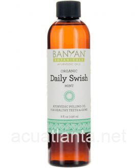Daily Swish 8 ounce oil Organic Mint Flavor
