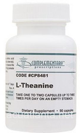 L-Theanine 90 capsules 100 milligrams - DISCONTINUED