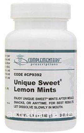 Unique Sweet Mints - Lemon 240 pieces - DISCONTINUED