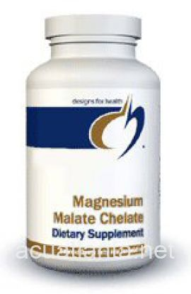 Magnesium Malate Chelate 120 count