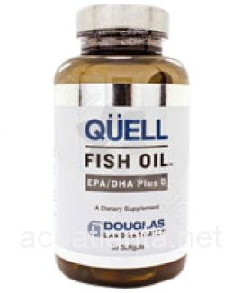Quell Fish Oil EPA/DHA plus Vitamin D 60 soft gelcaps