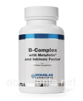 B-Complex with Metafolin and Intrinsic Factor 60 capsules