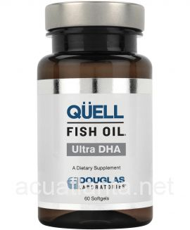 QUELL Fish Oil - Ultra DHA 60 soft gelcaps