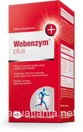 Wobenzym Plus 120 tablets