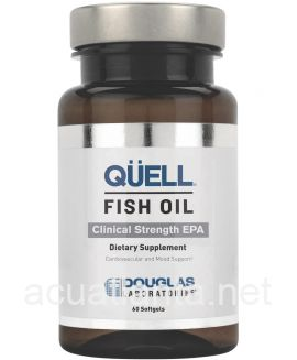QUELL Fish Oil Clinical Strength EPA 60 soft gels