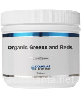 Organic Greens and Reds 240 grams powder