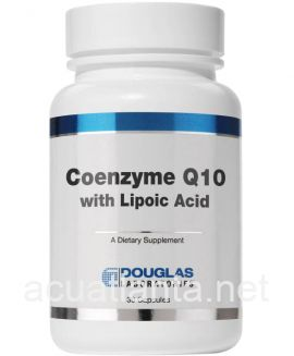 Coenzyme Q-10 with Lipoic Acid 30 capsules 60 milligrams