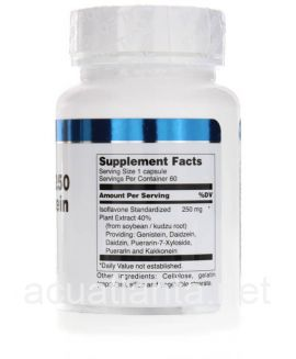 Isoflavone-250 with Genistein 60 capsules 250 milligrams