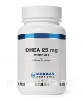 DHEA 25 mg. 60 tablets