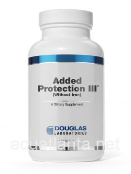 Added Protection III (without Iron) 180 count