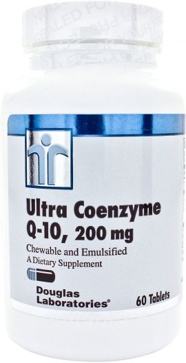 Ultra Coenzyme Q-10  60 chewable count 200 milligrams