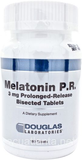 Melatonin P.R. 180 tablets 3 milligrams