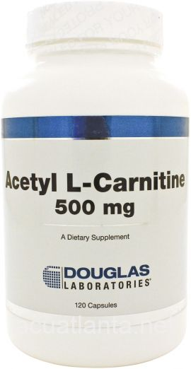 Acetyl-L-Carnitine 120 capsules 500 milligrams