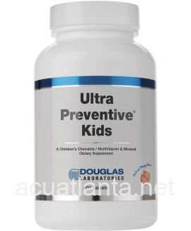 Ultra Preventive Kids 60 chewable tablets Orange