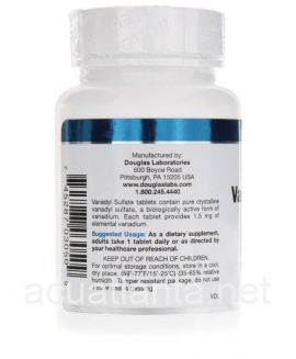 Vanadyl Sulfate 90 tablets