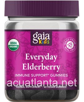 GaiaKids Everyday Elderberry Gummies 40 gummies