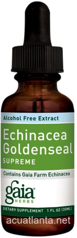 Echinacea Goldenseal Alcohol-Free 1 oz