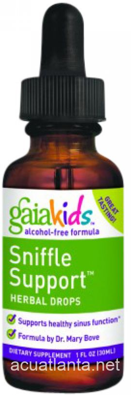Gaia Kids Sniffle Support Herbal Drops 1 oz