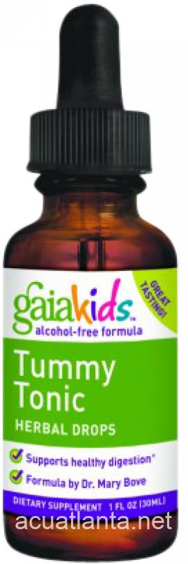 Gaia Kids Tummy Tonic Herbal Drops 1 oz