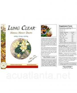 Lung & Throat Herbal Drops 1 pack