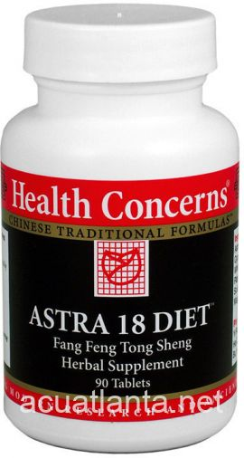 Astra 18 Diet 90 count