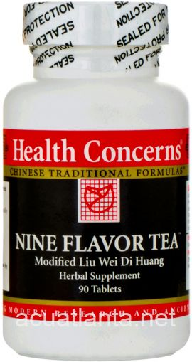 Nine Flavor Tea 90 tablets