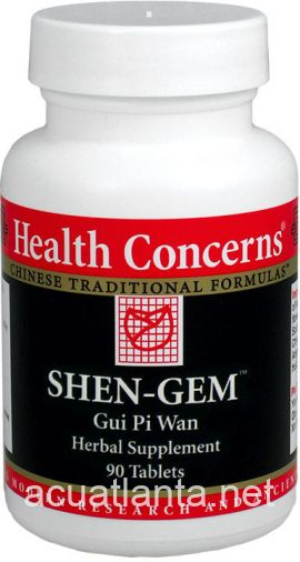 Shen-Gem (Ginseng and Longan) 90 count