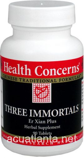 Three Immortals 90 count
