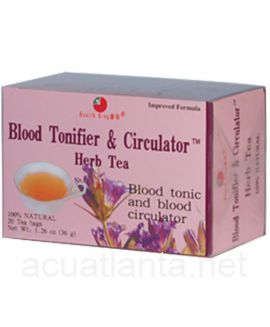Blood Tonifier & Circulator 20 tea bags