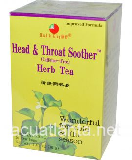 Head & Throat Soother Tea 20 tea bags
