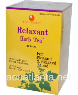 Relaxant Tea 1 to 2 tea bags