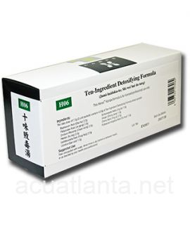 Ten Ingredient Detoxifying Formula 42 packets (H06)