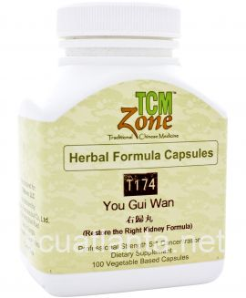 You Gui Yin 100 veggie capsules 0.5 grams (T174_C)