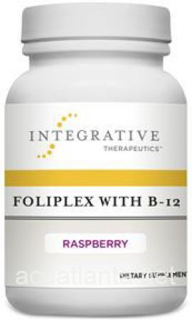 Foliplex with B-12 60 tablets Raspberry