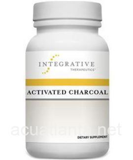 Activated Charcoal 100 capsules 560 milligrams