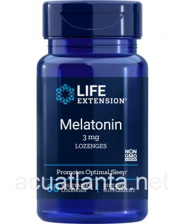 Melatonin 60 vegetarian lozenges 3 milligrams