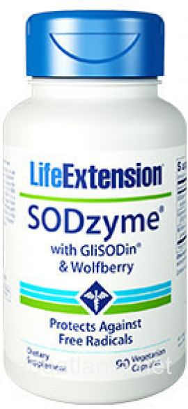 SODzyme with GliSODin and Wolfberry 90 veggie capsules