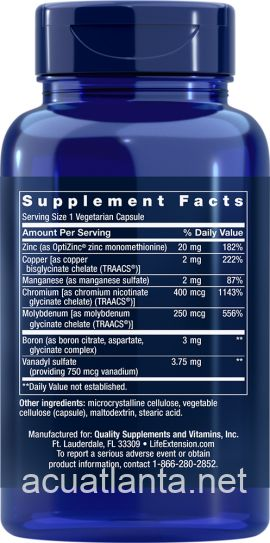 Only Trace Minerals 90 capsules