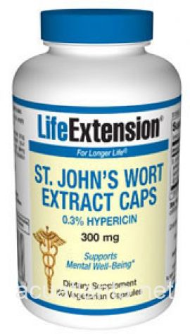 St Johns Wort Extract 60 capsules 300 milligrams