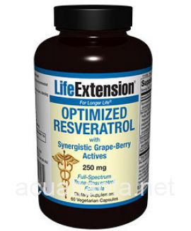 Optimized Resveratrol With Synergistic Grape Berry 60 veggie capsules
