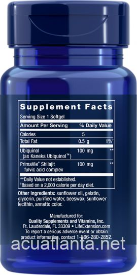 Super Ubiquinol CoQ10 with Enhanced Mitochondrial Support 30 soft gels 100 milligrams