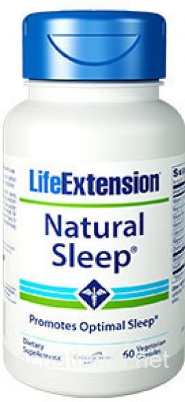 Natural Sleep 60 veggie capsules 3 milligrams