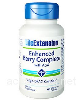 Enhanced Berry Complete with Acai 60 veggie capsules