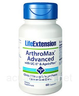 Arthromax Advanced with UC-II and Apresflex 60 veggie capsules